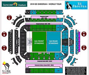 Ed Sheeran Brisbane 20/3/2018 Ormiston Redland Area Preview