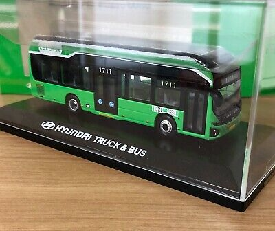 1/87 HYUNDAI ELEC CITY korea seoul diecast electric bus 1/87 scale