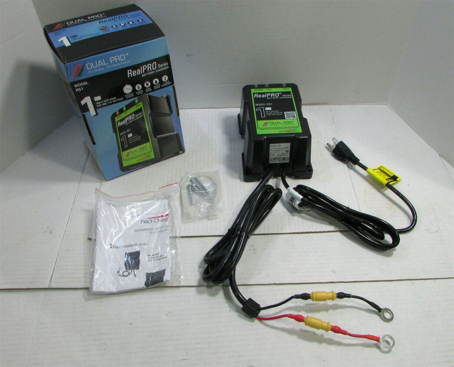 Dual Pro Chargers RS1 Recreational Series Battery Charger 6A