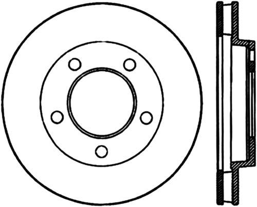 C Tek Standard Disc Brake Rotor Preferred Fits 1965 1972 Plymouth
