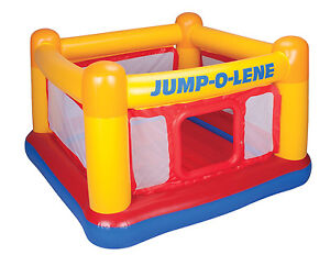 Intex-Inflatable-Jump-O-Lene-Ball-Pit-Bouncer-Bounce-House-48260EP