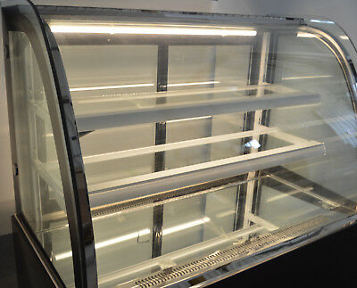 47in Countertop Refrigerated Bakery Display Cabinet Cake Pie Display Case 220v