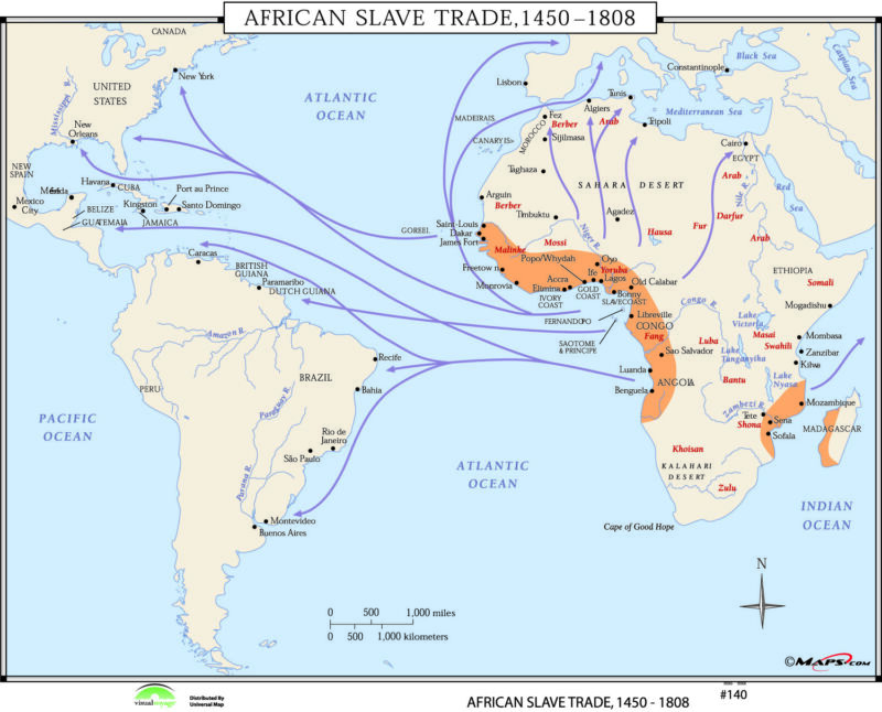 140 African Slave Trade, 1450-1808
