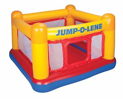 Intex Inflatable Jump O Lene Play Ball Pit Trampoline Bounce House Ring for Kids