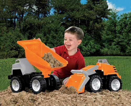 American Plastic Toys Mega Construction Set (2) Orange 1.5yrs.+ - New