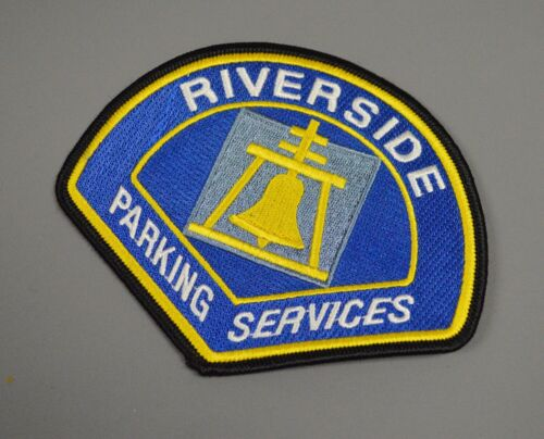 Riverside California Parking Services Patch ++ CA