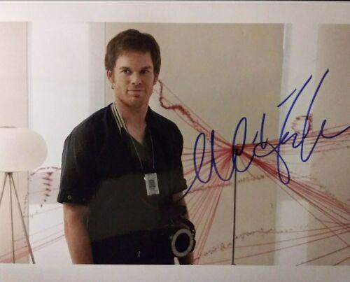 Michael C Hall signed 8 x 10
