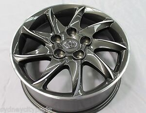 NEW GENUINE TOYOTA ACCESSORY COROLLA ALLOY WHEEL SET (4) PODIUM 2 16X6.5 2012