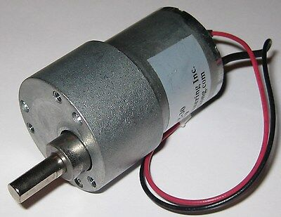 200 Rpm Heavy Duty 5 V Dc Gearhead Motor Gear Reduction