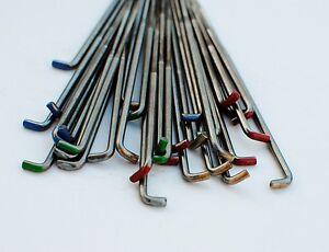 10 Heidifeathers Felting Needles sizes 2 x 32G, 2 x 36G, 2x 38G, 2x 40G, 2x 42G