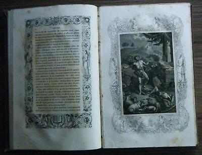 Par J Derome Histoire de L ancien et du nouveou Testament 30 Tableaux Paris 1836