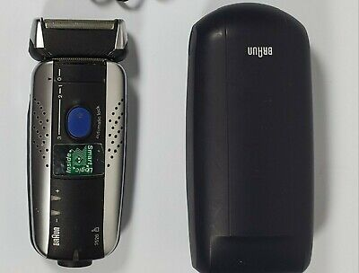 Braun 7526 Syncro System. Cordless Rechargeable Shaver with Case and Cord Braun Syncro Shaver System