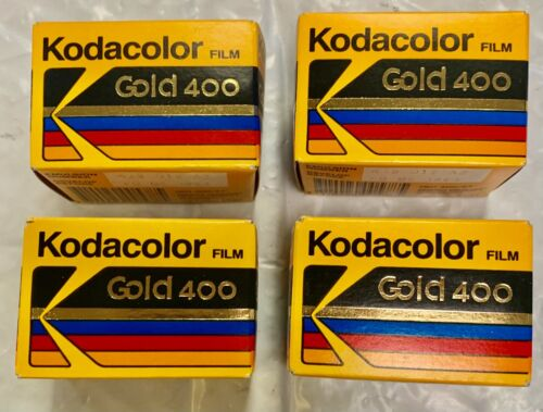 Kodak Kodacolor 35mm Gold 400/36 Expired 1991/94 Print Film-Various Art- 4 rolls