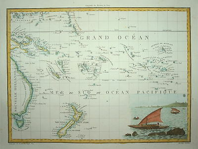 NEW ZEALAND. OCEANIQUE ORIENS GIRALDON 1805.