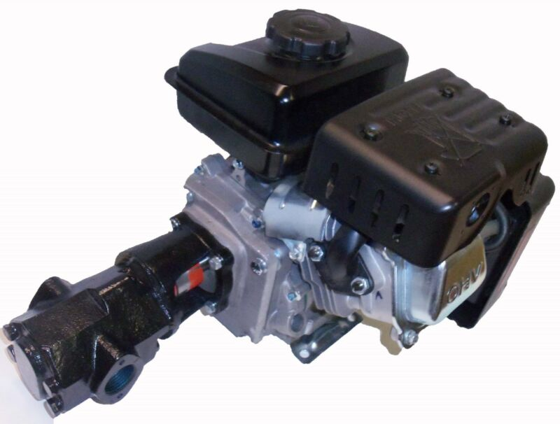 24 GPM WVO Pump Oil transfer Gear Pump for Motor Oil Biodiesel by US Filtermaxx