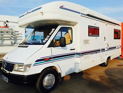 AUTO TRAIL SCOUT 4/5 BERTH MOTORHOME - MERCEDES SPRINTER 312D AUTO GEARBOX