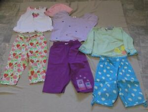 Girl's Summer Clothing Sets Size 3X