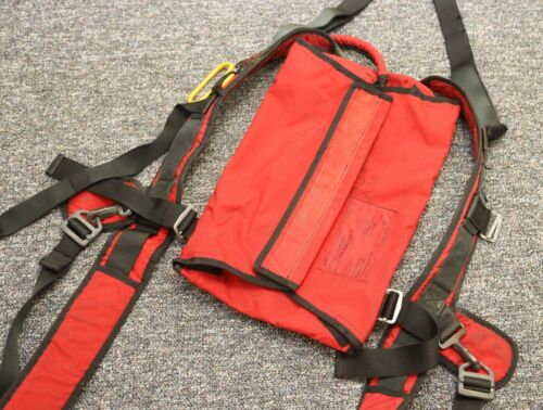 German pilot emergency parachute container (Mertens) Made in 1999