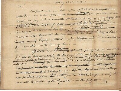John Jay  Escaped British, Vermont In Dispute, NY Delegates Travel To Congress