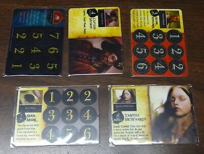 Dragonmiser Wizkids Pirates Huge Lot Promos, Rares, Uncommons, Commons and More