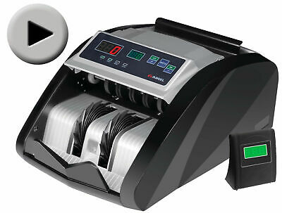 Money Bill Cash Counter Bank Machine Currency Counting Uv Mg Counterfeit New