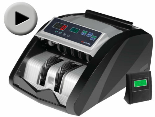 MONEY BILL CASH COUNTER BANK MACHINE CURRENCY COUNTING UV & MG COUNTERFEIT NEW!
