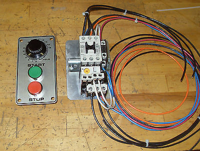Mixer Start Stop And Timer Motor Starter Kit Hobart 60qt 80qt 220v Single Phase