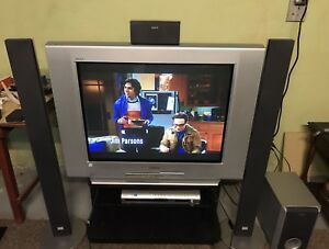 Sony TV and surround sound receiver
