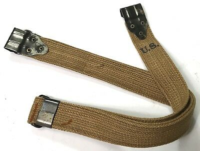 Wwii Us M1928 M1 M1a1 Thompson Mg Kerr Canvas Sling Grade 2