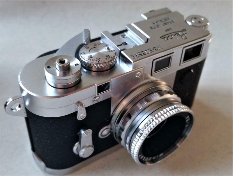 Spy Camera - Vintage Minox Miniature Leica M3  MINT + Film