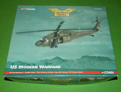 Corgi Aviation Archive US BlackHawk Double Vision Desert Storm