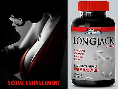 Men Sex Power - LONGJACK  2170mg Up Your Size - Boosts Male Fertility Pills 1B