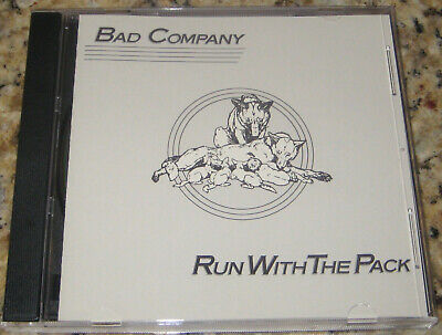 Bad Company- Run With the Pack CD Young Blood, Simple Man. Swan Song SS 8503-2