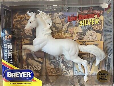 Breyer Lone Ranger's Silver with VHS tape all NIB