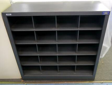 New Office Pigeon Hole Unit Mail Sorting Cabinet 20 Compartments