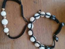 2 x silver and bronze rope bracelets Grose Vale Hawkesbury Area Preview