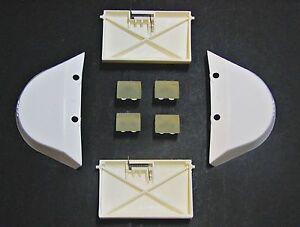 Hayward Navigator Ultra Pool Vac Wing, Flap & Shoe Cleaner Replacement Parts Kit