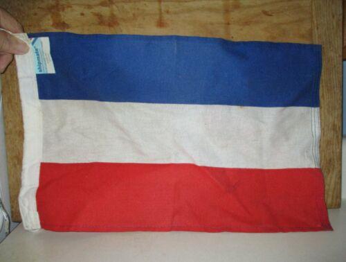 "VINTAGE UNUSED SHIPMATE NEDERLAND COUNTRY FLAG FOR SHIP BOAT 19"" BY 11"""