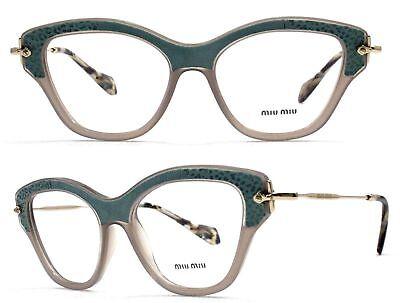MIU MIU Fassung Glasses VMU07O U6S-1O1 Gr 52 Nonvalenz BF 126 T119