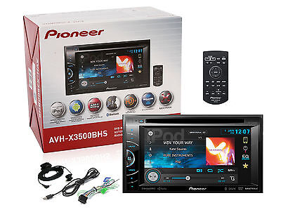 "Pioneer AVH-X3500BHS 6.1"" DVD USB MP3 HD Radio Bluetooth Stereo New AVHX3500BHS on Rummage"