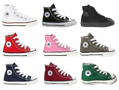 CONVERSE CHUCK TAYLOR ALL STAR HIGH TOP INFANT/TODDLER SHOES - Chuck Taylors Baby