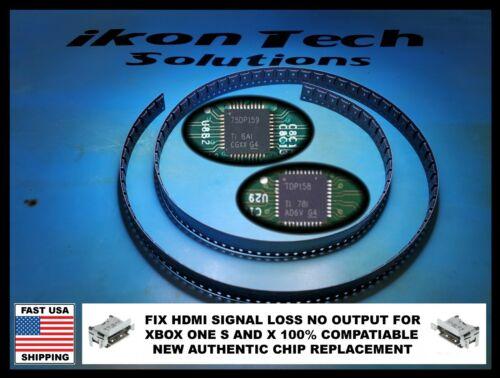 Xbox One X S HDMI Retimer IC Chip TDP158 75DP159 No Video Texas Instruments OEM