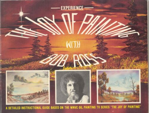 BOB ROSS JOY OF PAINTING BOOK 1 NEW WITH 13 PAINTING PROJECTS SHIPs FREE