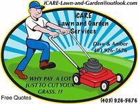 iCARE     *** Affordable Lawn And Garden Services  ***