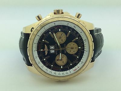 Breitling Bentley Men's 18K Yellow Gold 6.75 Limited Edition Chronograph Watch