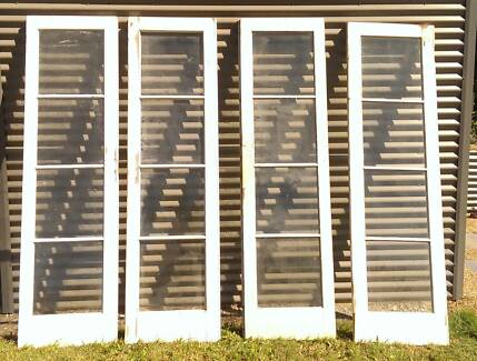 Second Hand Pair Of French Doors 208 X 50 Cm Each Building