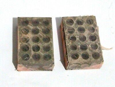New 1-2-3 Matched Pair 2 Machinist Blocks Hardened Steel 1x2x3