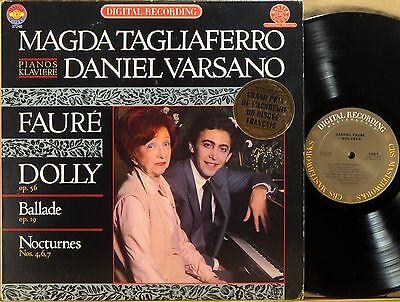 Digital Piano Dolly - CBS DIGITAL MASTERWORKS Faure Dolly TAGLIAFERRO & VERSANO Pianos IM-37246 NM