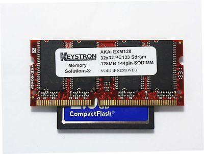 128mb Exm128 & 16gb Cf Card Akai Mpc500 Mpc1000 Mpc2500