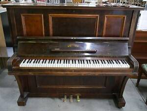Vintage Timber W. H. Paling & Co. Ltd Vitor Premier Model Piano Melbourne CBD Melbourne City Preview
